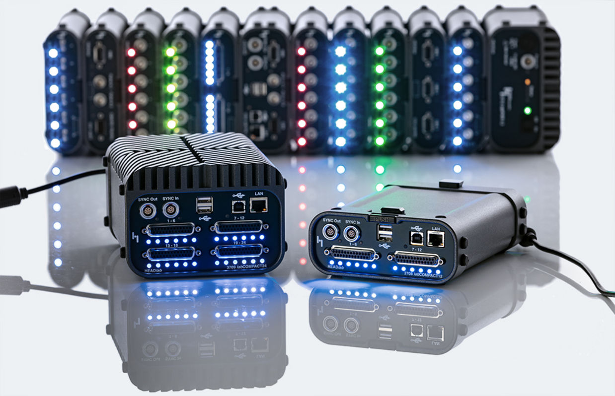 labCOMPACT12 and labCOMPACT24 multi-channel data acquisition
