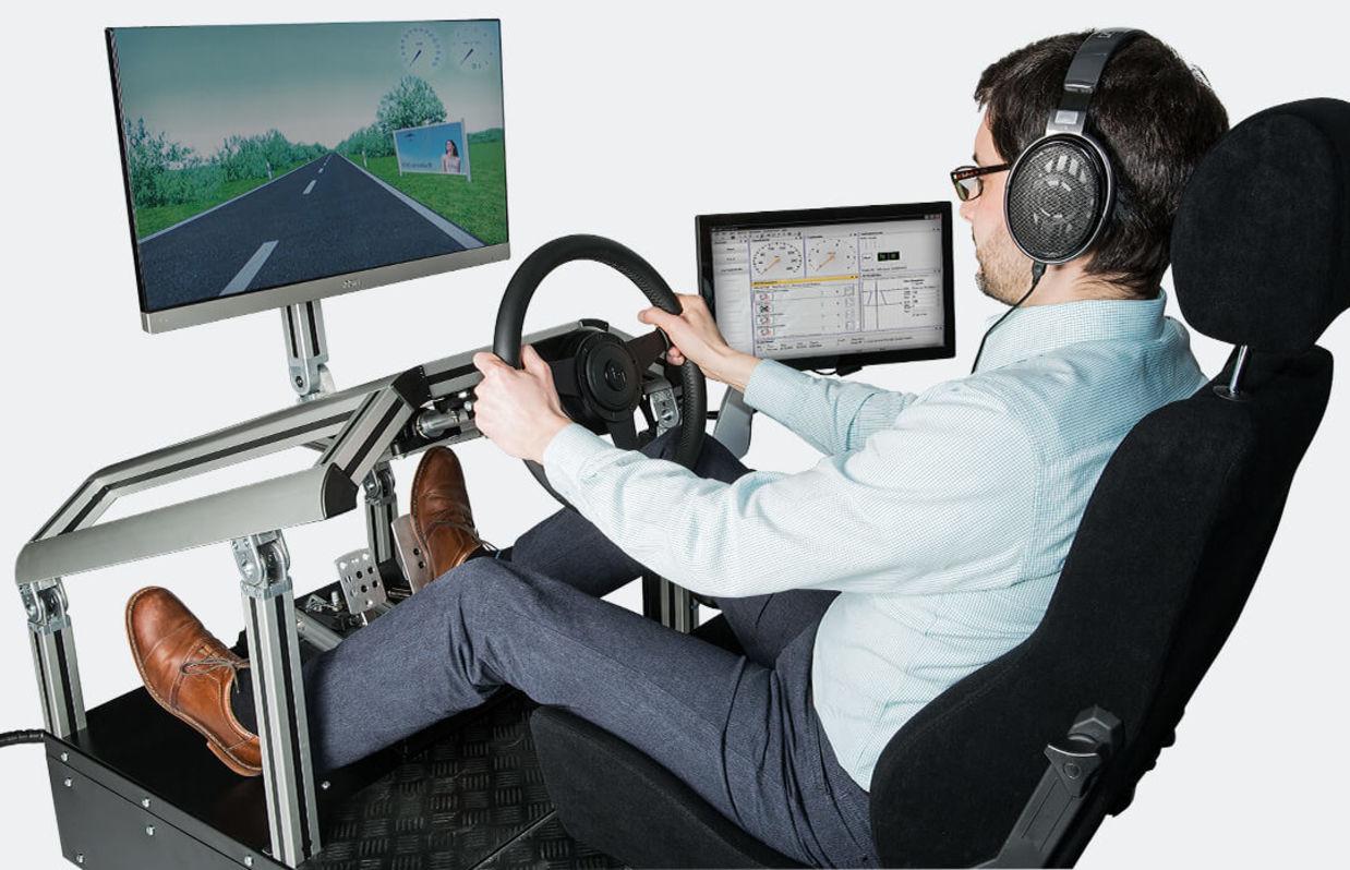Fahrzeugsimulator
