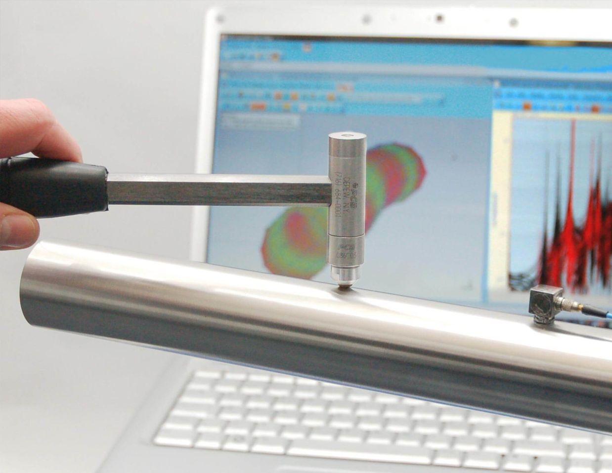 ME'scopeVESTM– Modal Analysis Software, Hammer