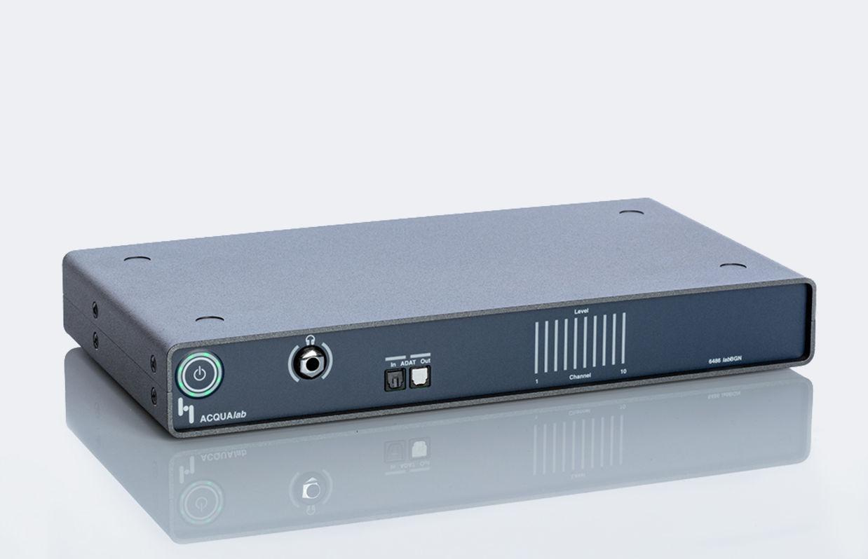 Front view of hardware platform labBGN